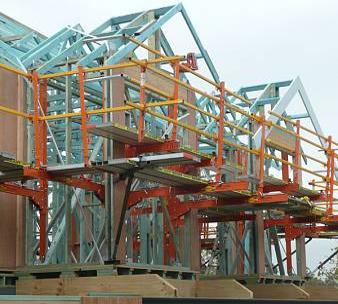 edge safety scaffolding
