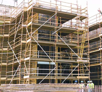 fixed scaffolding supplier